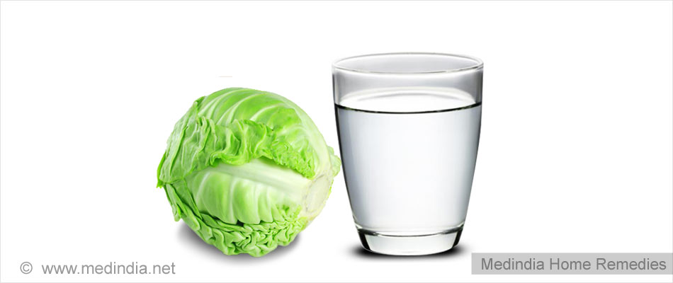 Home Remedies for Sprains: Cabbage Leaves Warmed in Hot Water