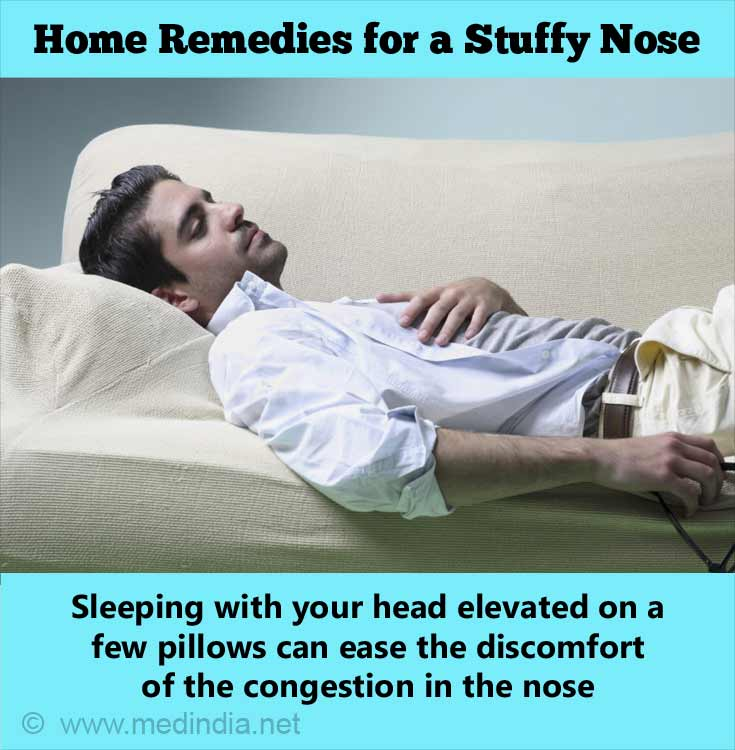 Stuffy Nose: Raised Pillow