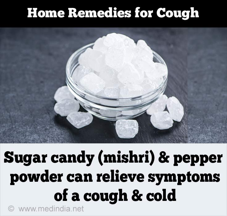 Sugar candy, Pepper Powder can Relieve a Cough