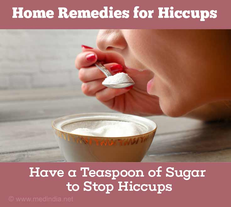 Home Remedies for Hiccups: Sugar