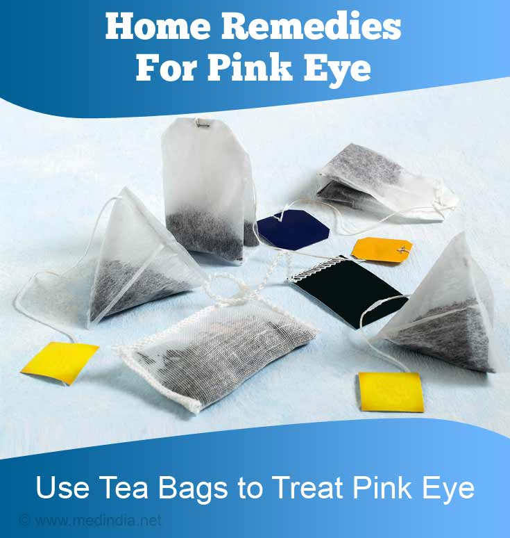 Use Tea Bags to Treat Pink Eye