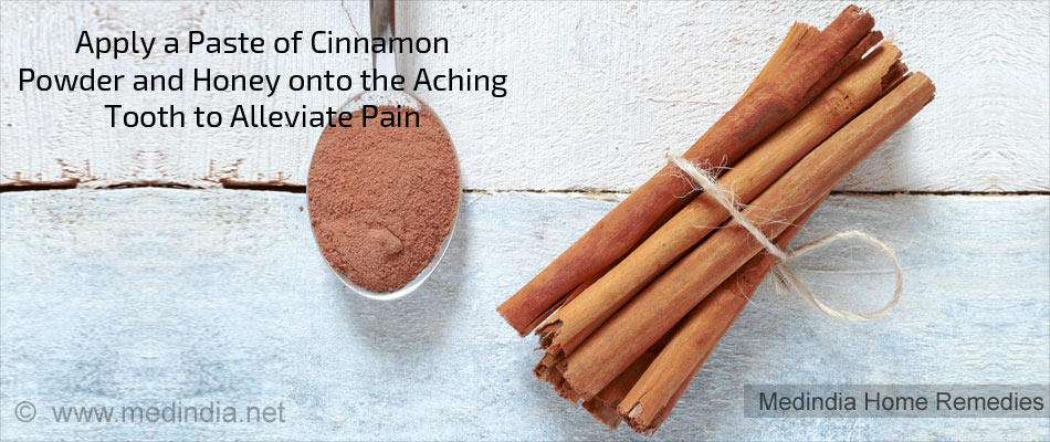 Home Remedies for Toothache: Cinnamon