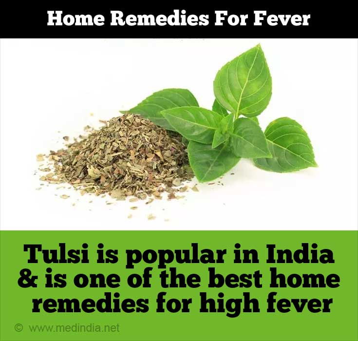 Tulsi - Best Home Remedy for Fever