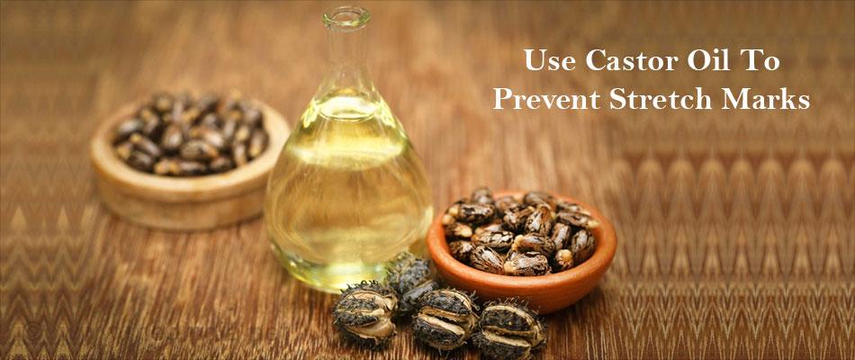 Use Castor Oil To Prevent Stretch Marks