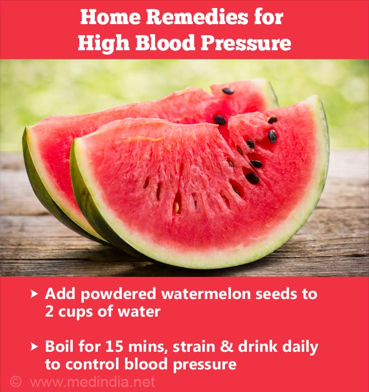 Watermelon Seeds for High Blood Pressure