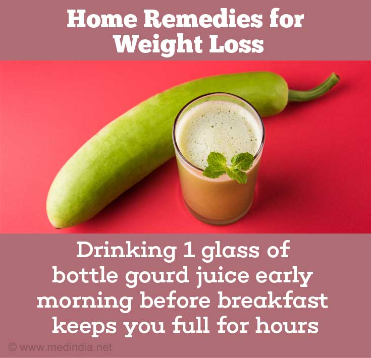 Home Remedies For Weight Loss: Bottle Gourd