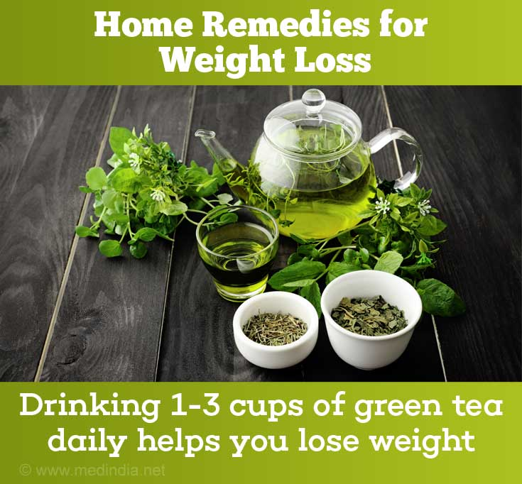 Home Remedies For Weight Loss: Green Tea
