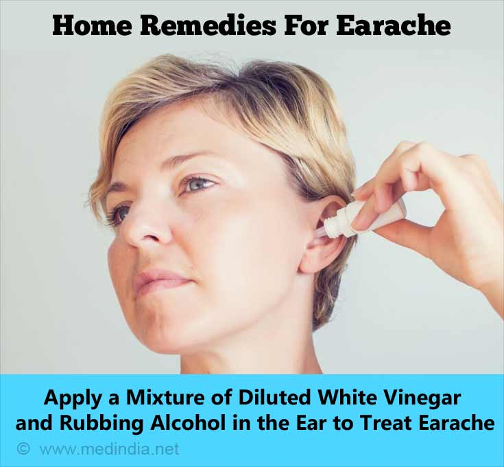 Home Remedies for Earache: White Vinegar