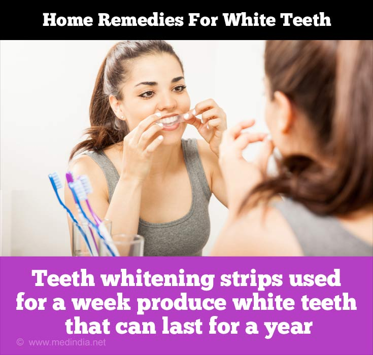 Tips to Maintain White Teeth: Whitening Strips