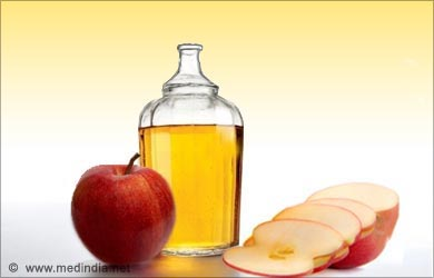 Home Remedies for Yeast infection in Animals: Apple Cider Vinegar