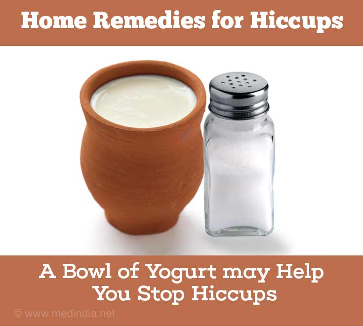 Home Remedies for Hiccups: Yogurt