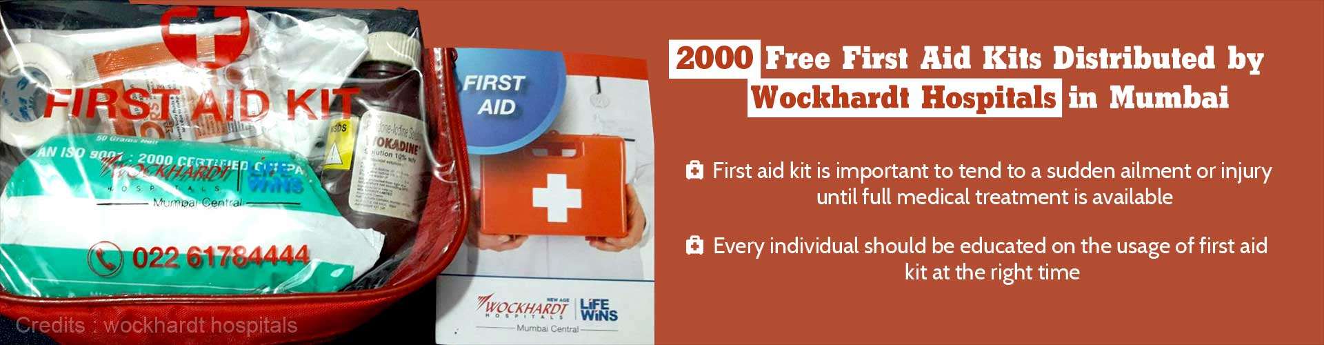 First Aid Kits Distributed for Free by Mumbai's Wockhardt Hospitals - An Exclusive Interview With Dr Parag Rindani