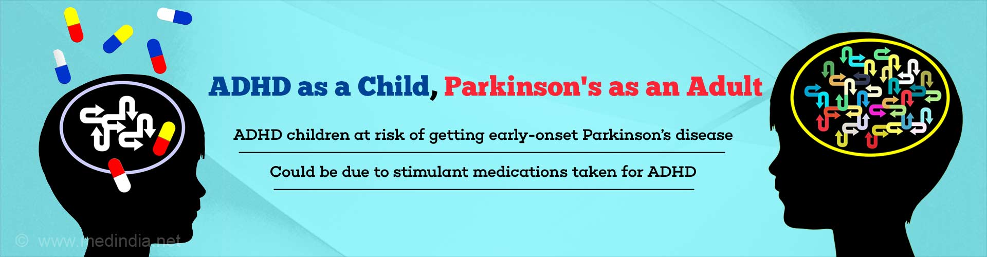 ADHD Children at Greater Risk of Developing Parkinson's Disease Early