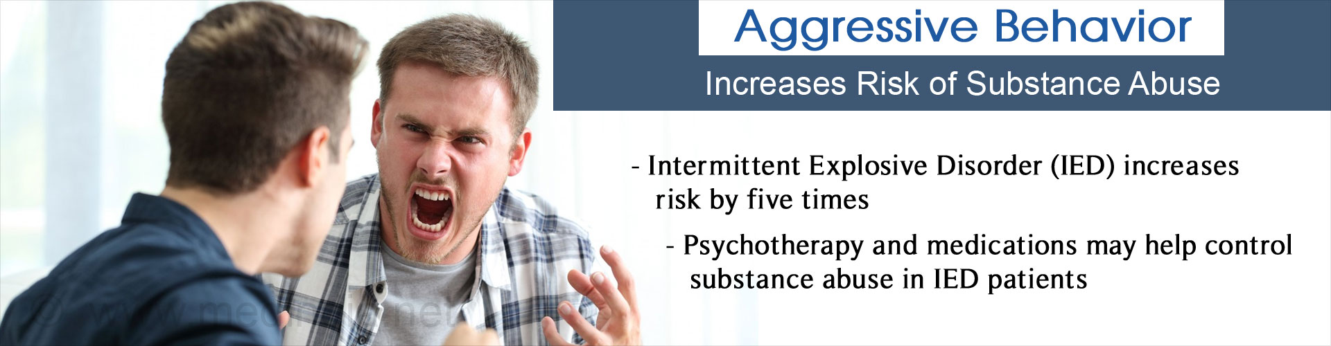 Aggressive Behavior Increases Risk of Substance Abuse Later in Life