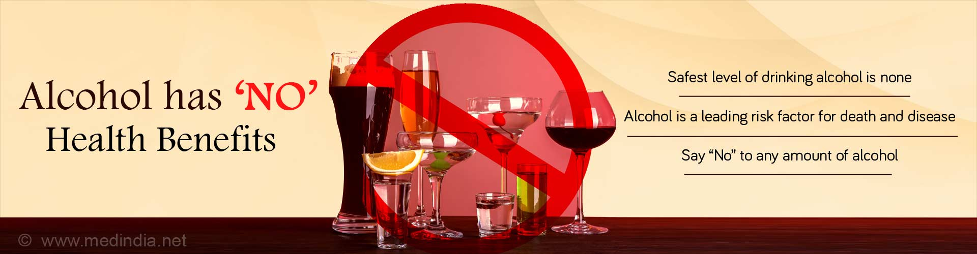 No Amount of Alcohol is 'Safe' for Health