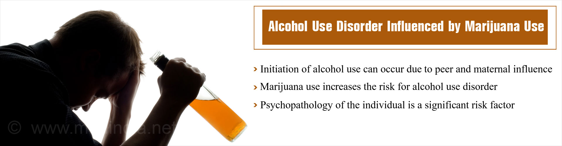 Marijuana Increases Risk for Alcohol Use Disorder