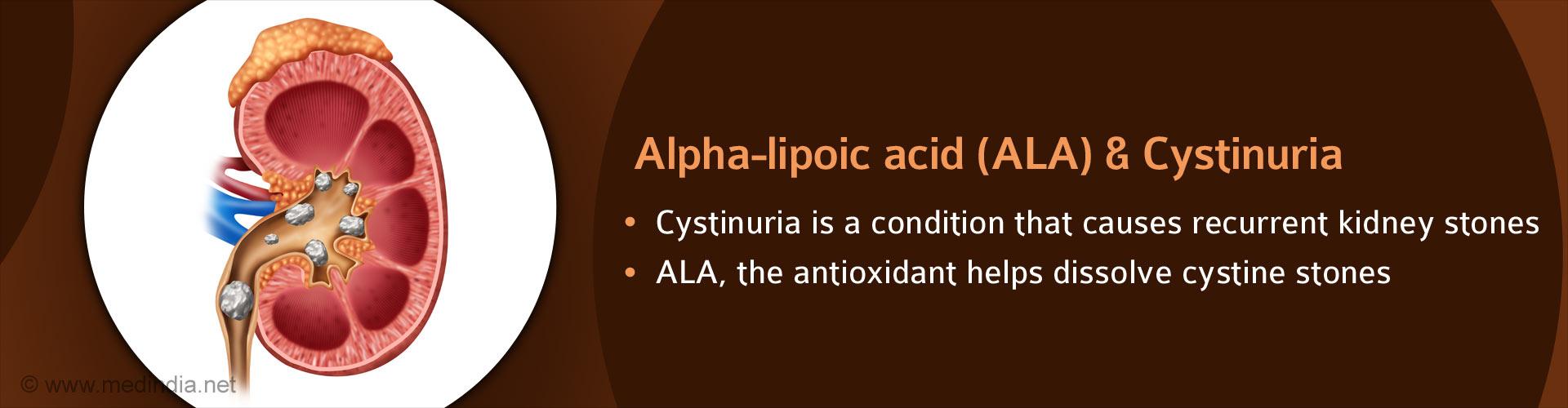 Alpha-lipoic Acid Prevents Kidney Stones in Rare Genetic Disease