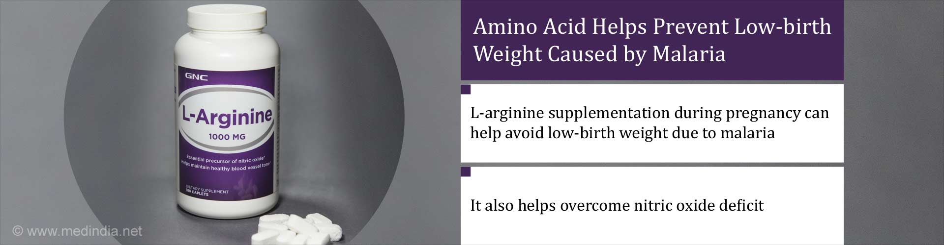Amino Acid Helps Prevent Low-birth Weight Caused by Malaria