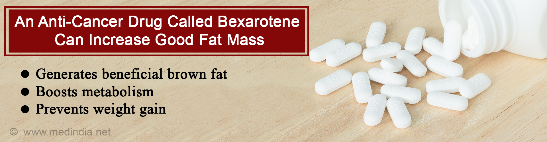 FDA Approved Drug Found To Increase Brown Fat and Lower Weight Gain