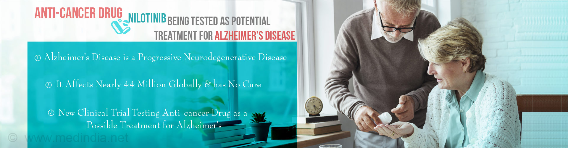 Cancer Drug Nilotinib Being Tested As Treatment For Alzheimer's In New Clinical Trial