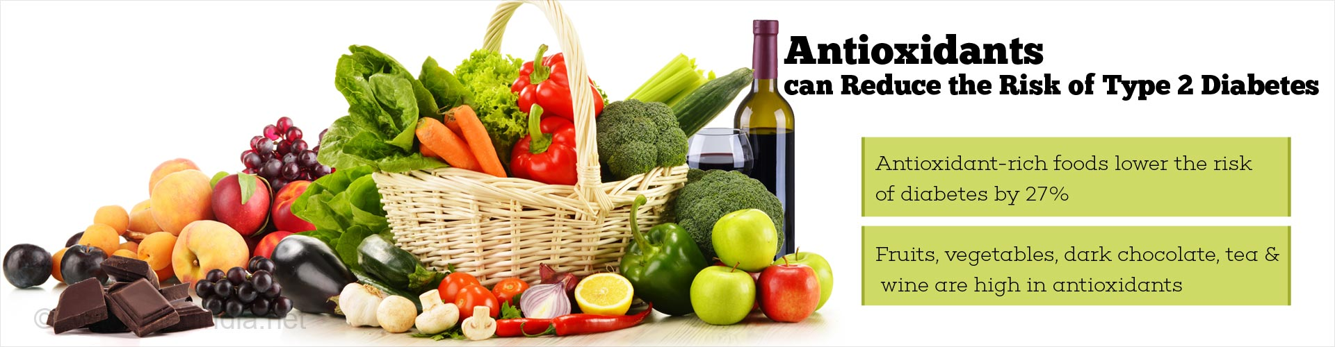 Antioxidant-rich Foods can Lower the Risk of Type 2 Diabetes