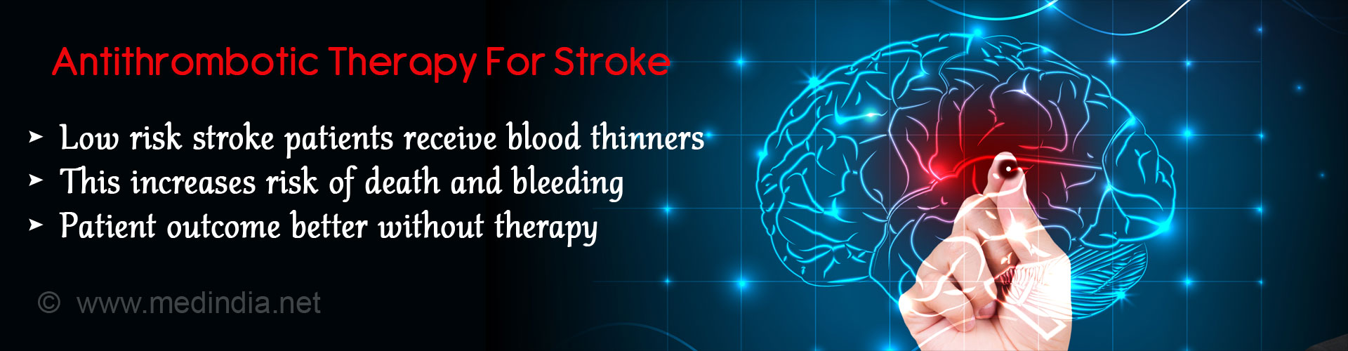 Blood Thinners Do Not Lower Risk of Stroke Among Low Risk Patients