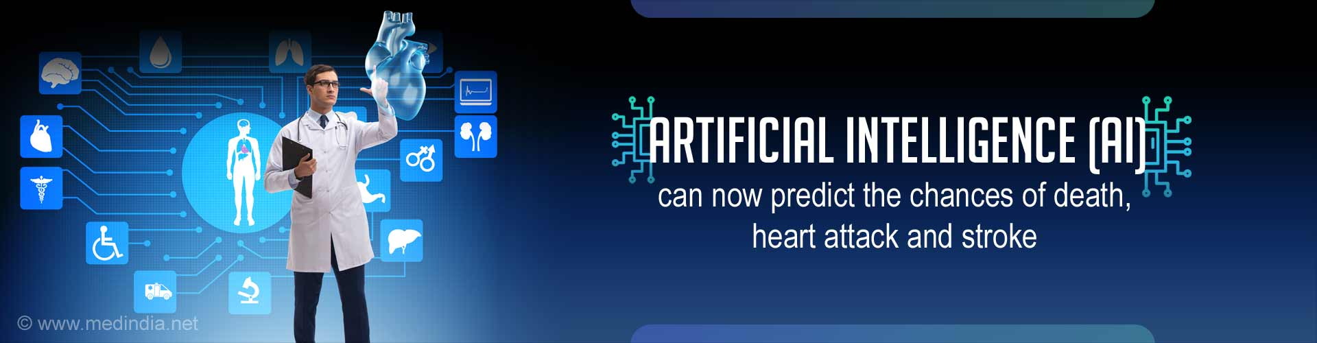 Artificial Intelligence Helps Predict Heart Attack and Stroke