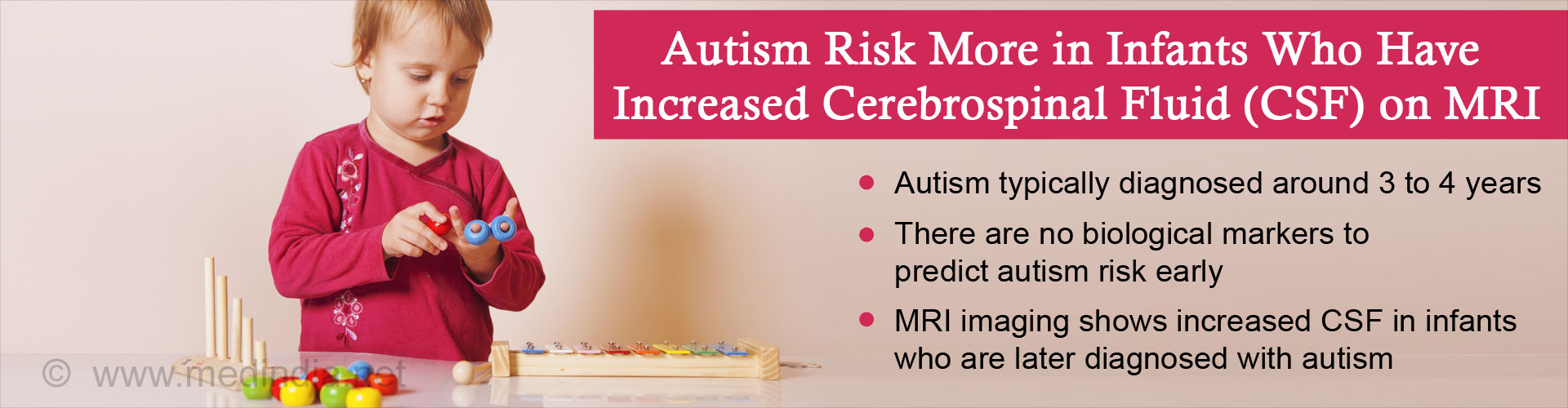 Increased Cerebrospinal Fluid on Infant MRI�s Might Be A Predictor of Autism