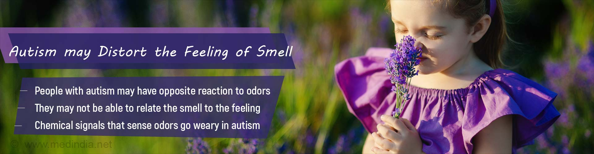 Autism Spectrum Disorder May Hamper the Feeling of Smell