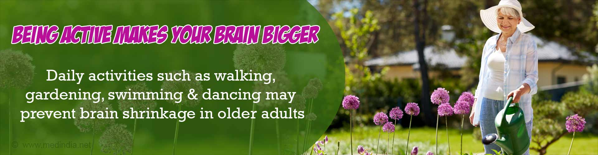 Bigger Brains: Daily Exercise can Prevent Your Brain From Shrinking as You Age