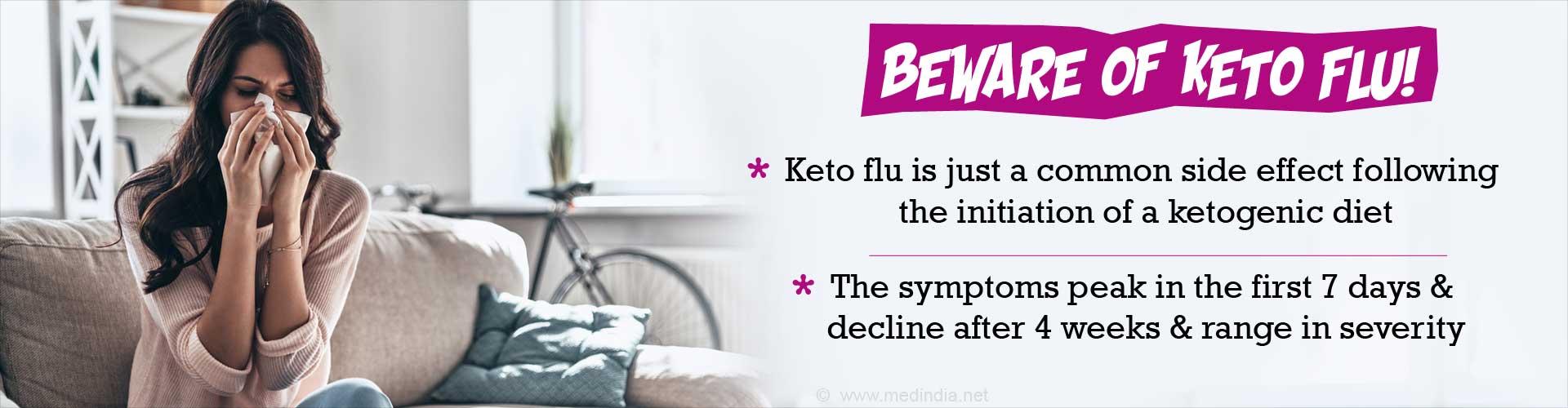 Keto Flu: Ketogenic Diet may Trigger Flu-like Symptoms during Initial Weeks