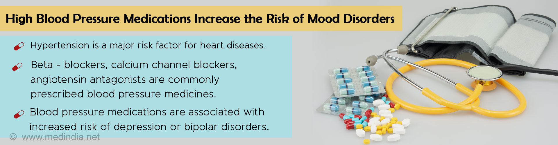 Blood Pressure Medicines May Increase Risk of Mood Disorders