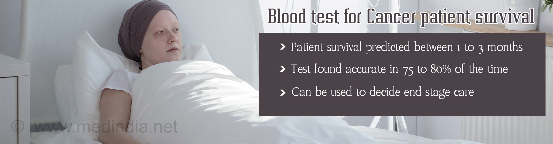 Cancer Patient Prognosis Using Routine Blood Test