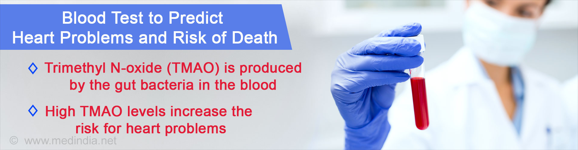 Blood Test May Help to Predict the Risk of Death and Heart Problems