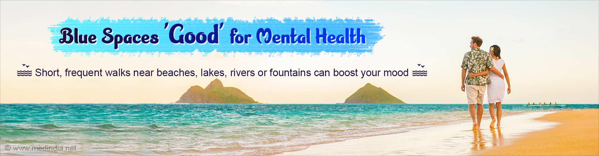Walking Along Blue Spaces Benefits Mental Health