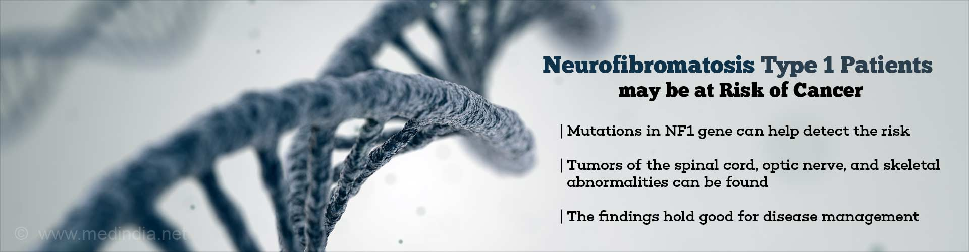 Cancer Risk in Neurofibromatosis Patients Due to Mutations