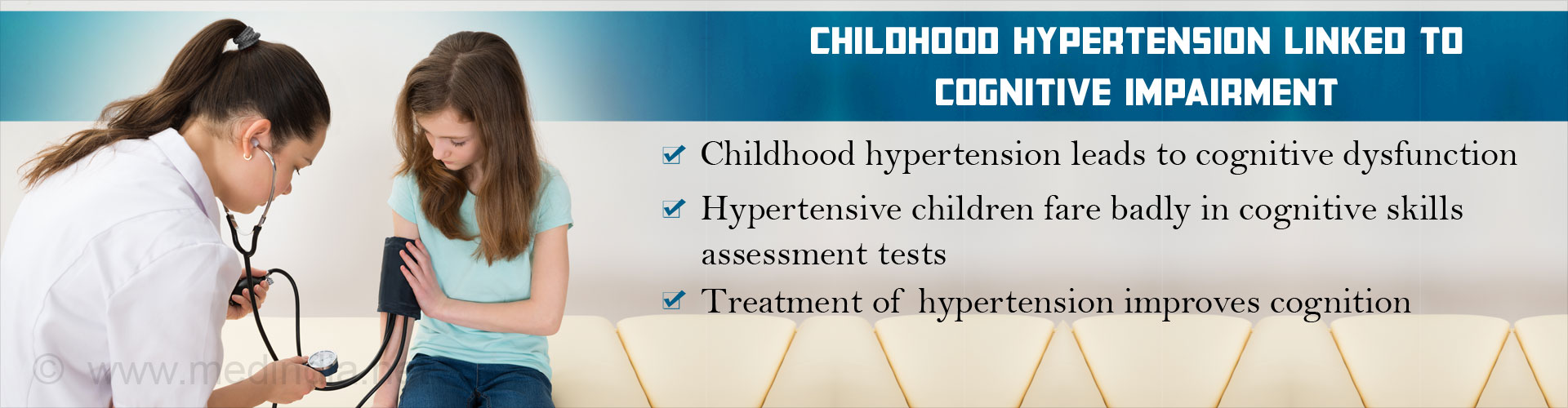 Childhood Hypertension Linked To Cognitive Dysfunction