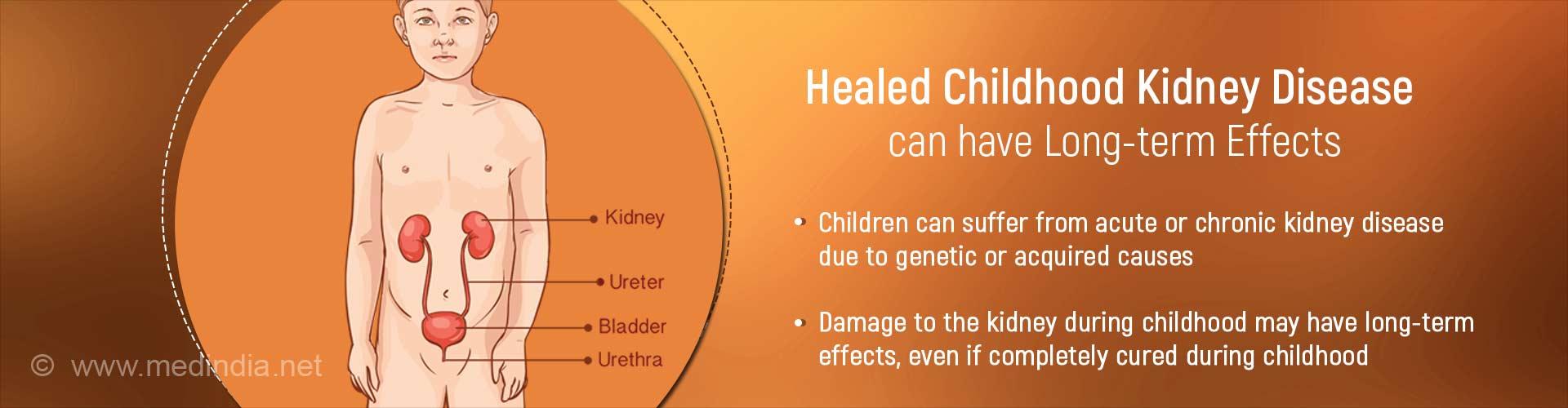 Kidney Disease in Children Increases the Risk of End Stage Renal Disease(ESRD) in Adulthood