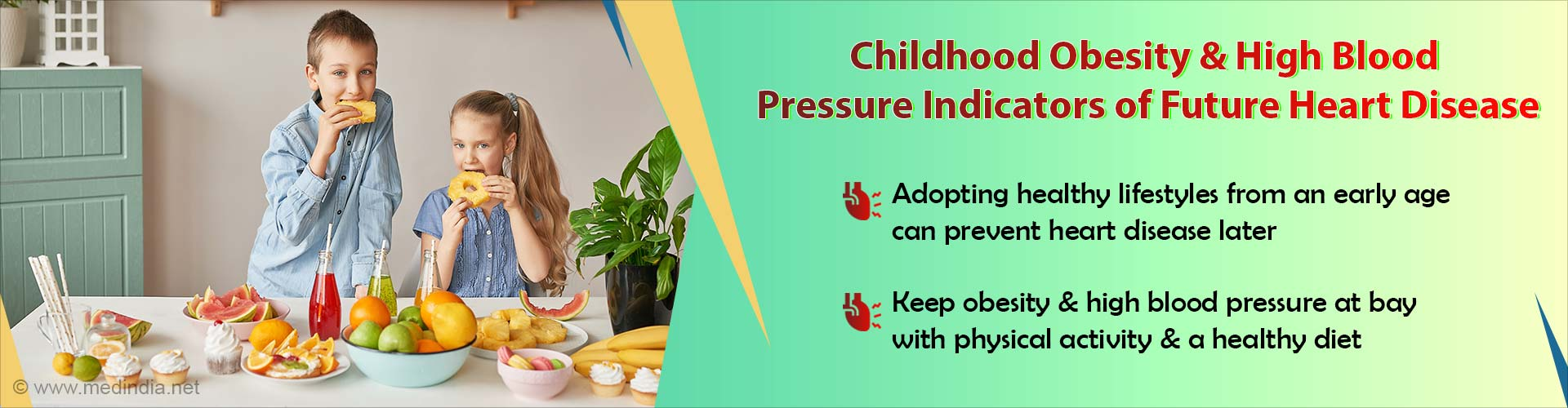 Childhood Obesity and High Blood Pressure can Lead to Future Heart Disease