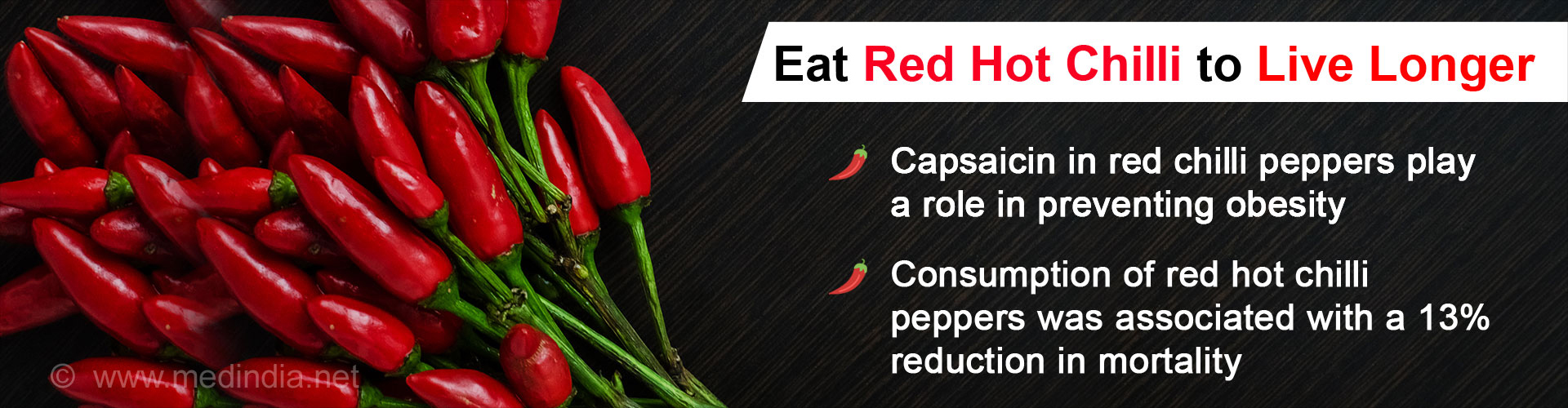 Eat Hot Peppers to Live Longer