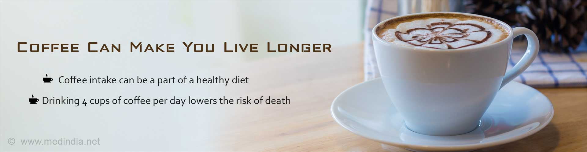 Image result for lower your risk of death with coffee