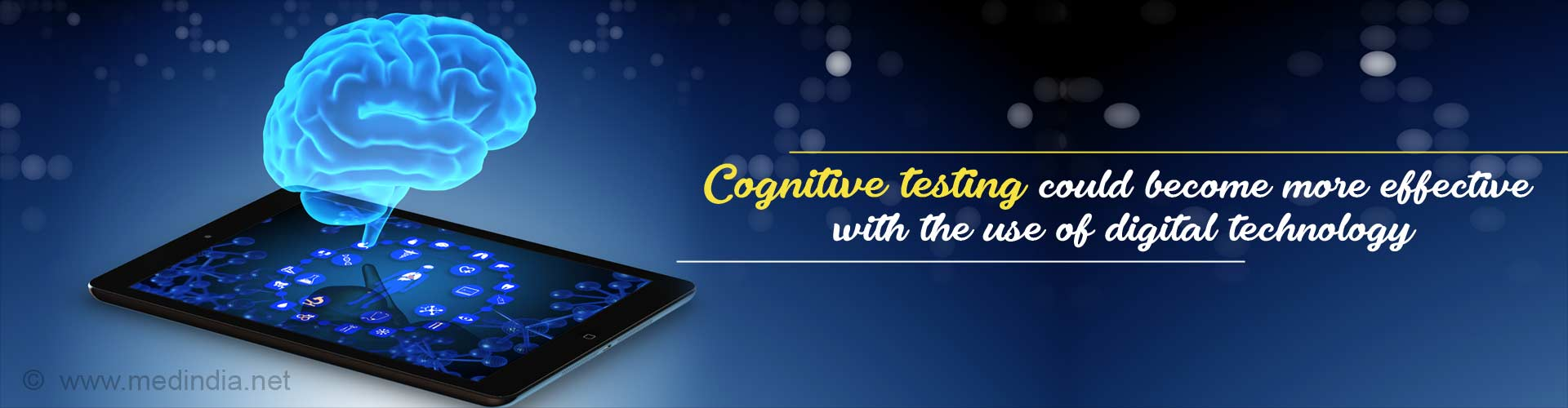 Digital Neuropsychology Could be the Future in Cognitive Testing