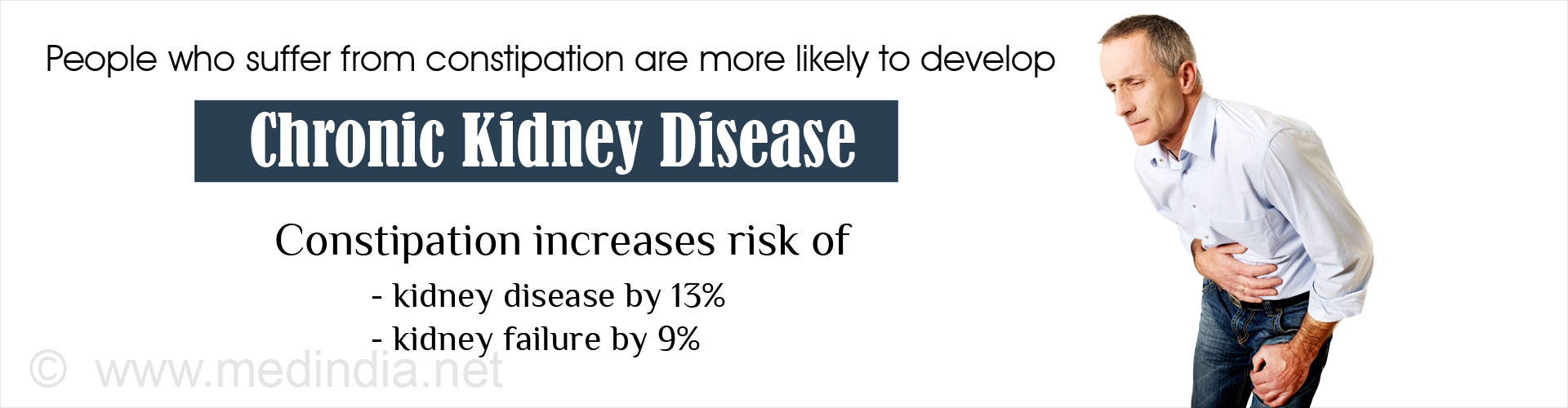 If You Suffer from Constipation You Have Higher Chances of Getting Kidney Disease