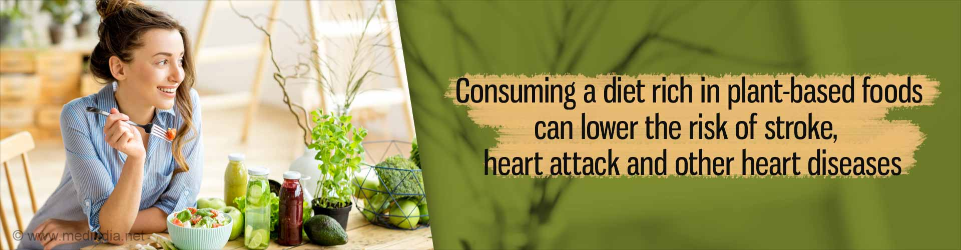 Eating More Plant-based Foods can Keep Heart Disease at Bay