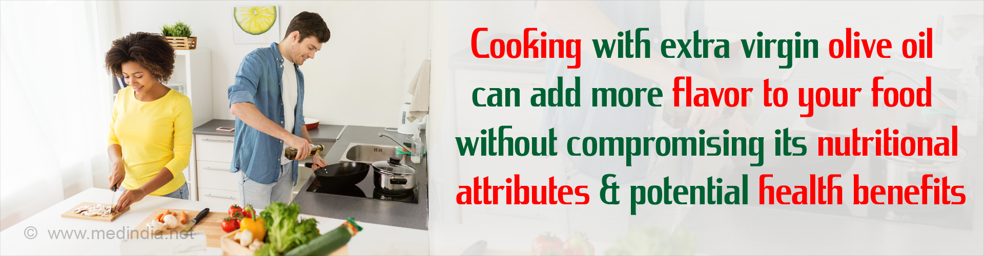 Extra Virgin Olive Oil Does Not Lose Its Health Benefits Even After Cooking