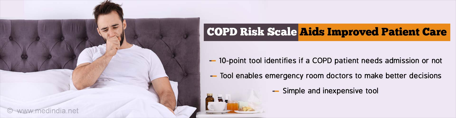 New Tool Predicts COPD Patient''s at Risk of Serious Complications