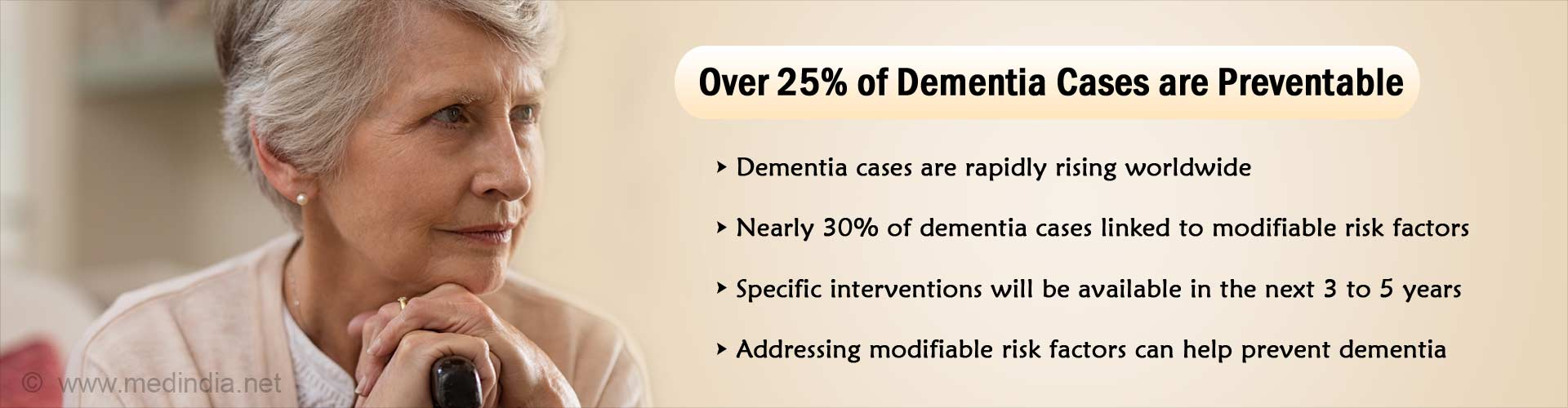 Global Efforts Needed to Control Rising Incidence of Dementia
