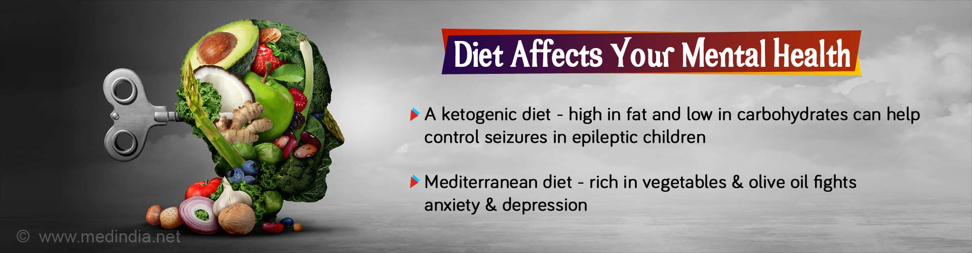 Diet Linked with Mental Health - New Evidence