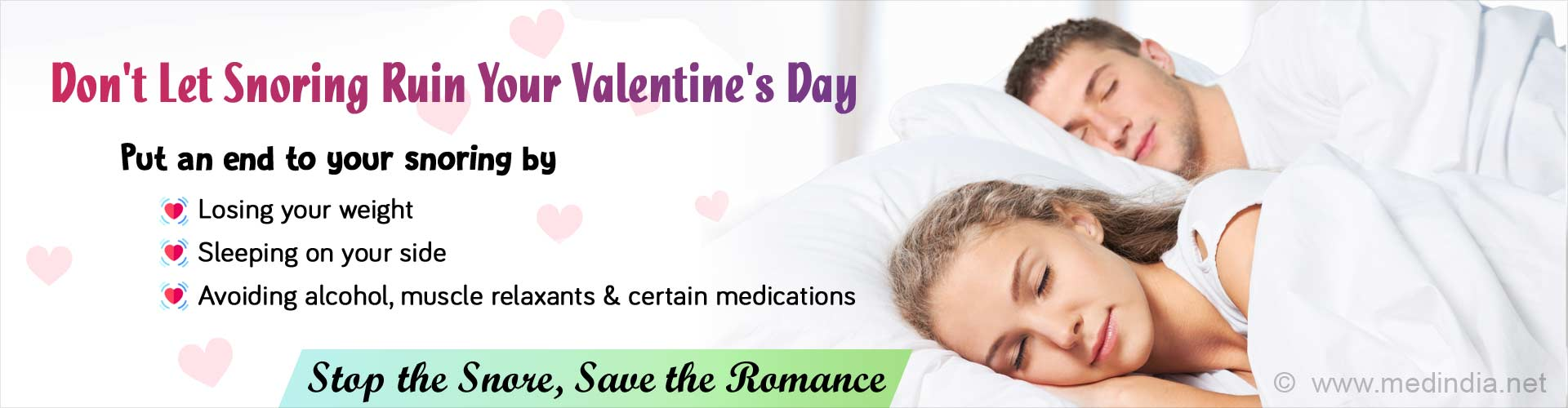 Valentine''s Day Gift: Mute Snoring to Surprise Your Partner
