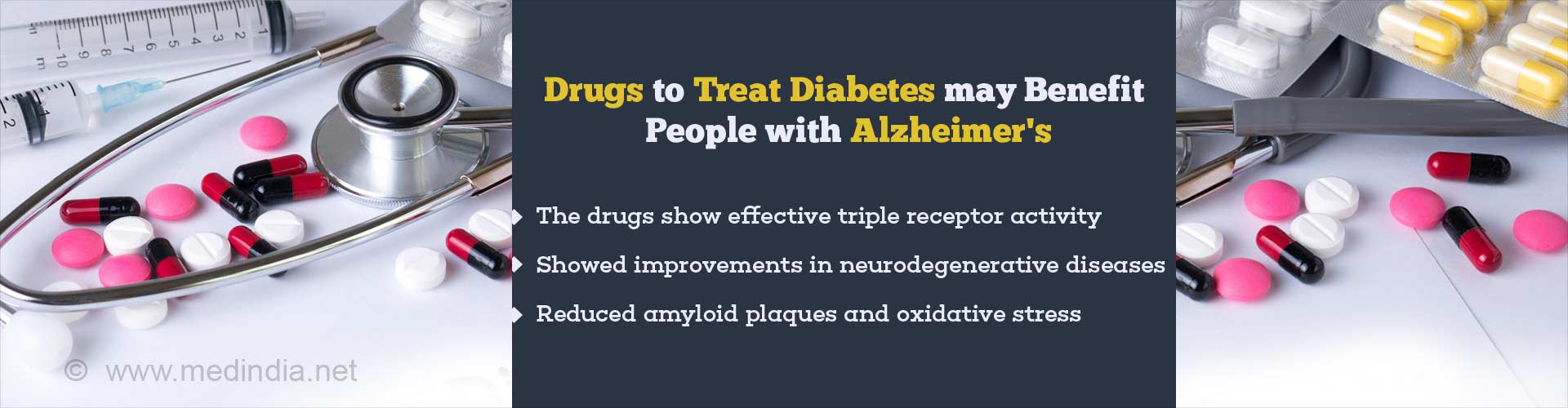 Type 2 Diabetes Drug Study Showed Improvement In Alzheimer's Patients